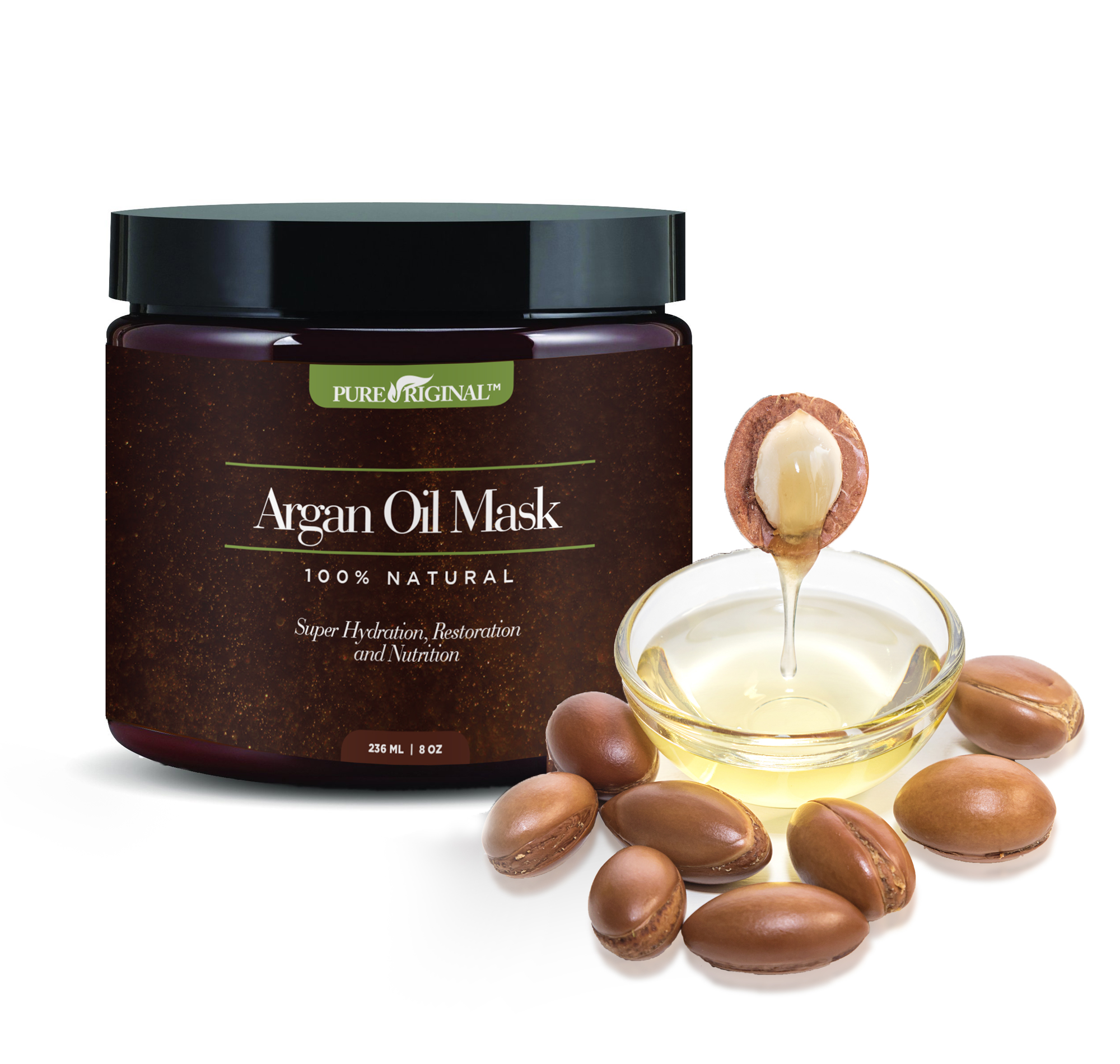Argan Oil Mask Back
