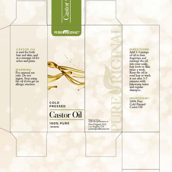 Castor Oil Template