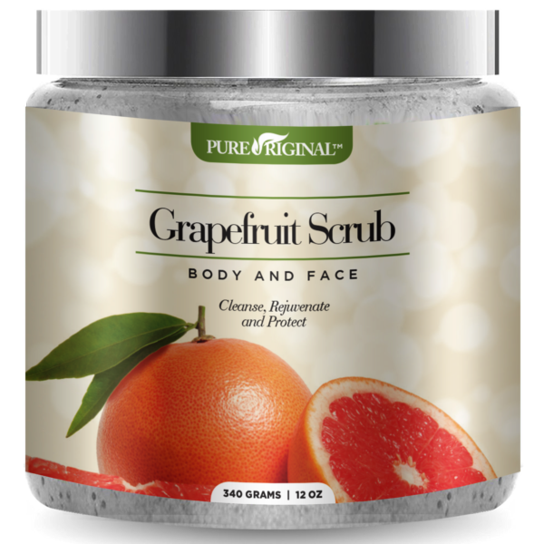 Grapefruit Scrub Jar