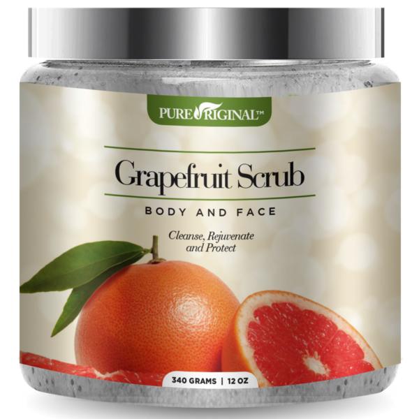 Grapefruit Scrub Jar