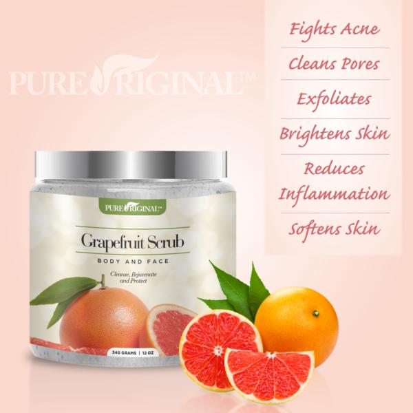 Grapefruit Scrub