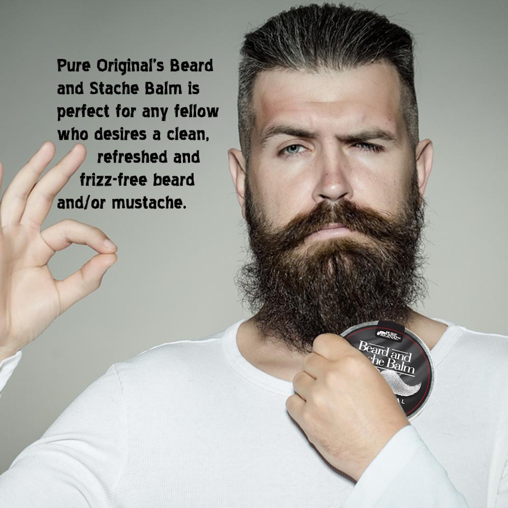 Beard and Stache Balm
